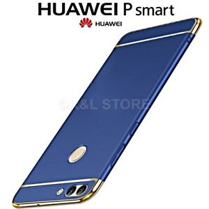 COVER-per-Huawei-P-Smart-CUSTODIA-PROTEZIONE-360-RIGIDA-Antiurto-Ultra-Sottile