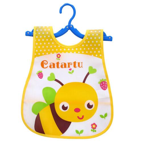 Toddler Cute Kid Infant Bibs Baby Soft Cartoon Bib Waterproof Saliva Dripping