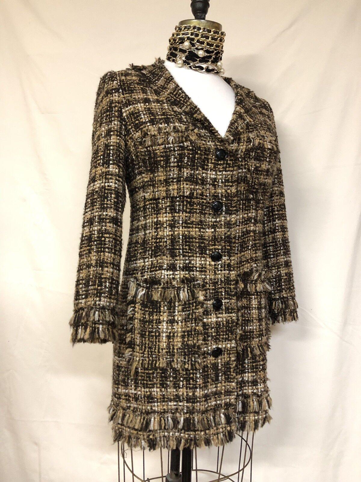 Haute Haute Haute Couture Coat Dress, Size  M a140a4