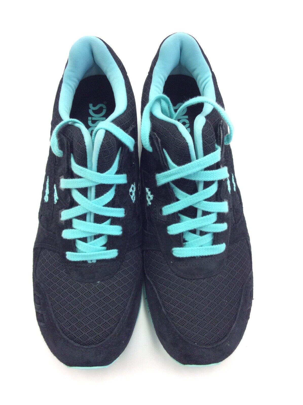 ASICS Men Gel-Lyte III Athletic Sneaker H6Z0L-9090 Black Mint Size 13
