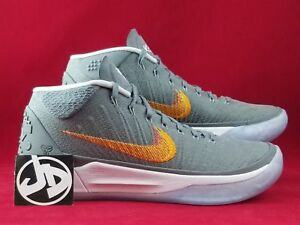 finest selection 0ff22 f8afd Details about NIKE KOBE AD SNAKE WOLF GREY CHROME BASKETBALL SHOES ( 922482  005 ) SIZE 8