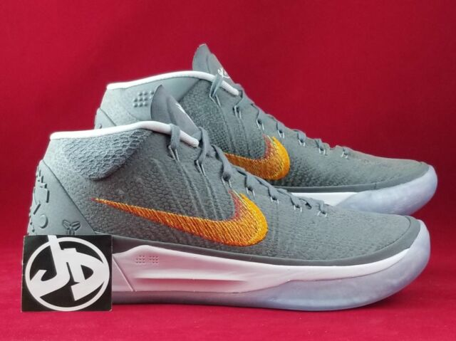 competitive price f0c55 1e15c NIKE KOBE AD SNAKE WOLF GREY CHROME BASKETBALL SHOES ( 922482 005 ) SIZE 8