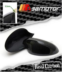 for BMW 1 Series E81 E82 E87 E88 2005-2009 car mirror cover cap carbon fiber