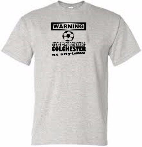 colchester t shirt warning