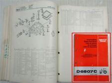 . Deutz Ersatzteilliste Traktor D4506 Bj 1974-1980