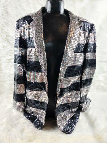 Vintage Super Trippy Sequin Suit Jacket - Western