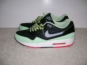 Details about SZ 9 Nike Air Max 1 FB 579920 066 BLACK MINT GREEN PINK FLASH WHITE YEEZY 95 97