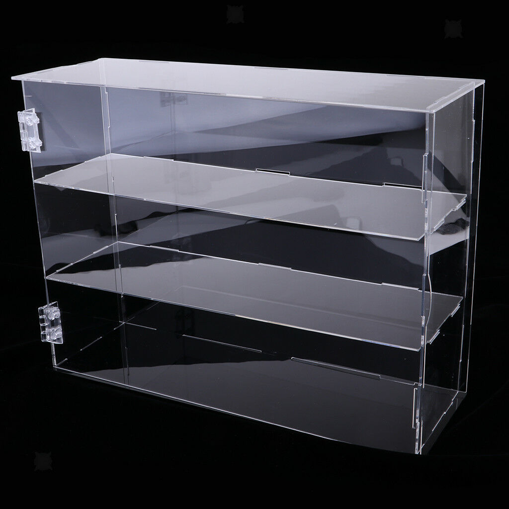 Dust Prevention Acrylic Display Action Figure Model Box 3-tier 30cm Height