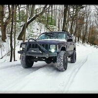 1984-2001 Jeep Cherokee Xj/comanche Stinger Winch Front Bumper