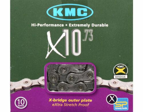 KMC X10.73 10 Vitesse Chaîne Pour Route /& Mtb Cyclisme