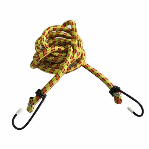 Details about  /Elastic Bungee Cords Hooks Bikes Rope Tie Luggage Car Strap Roof Rack Fad Tglu