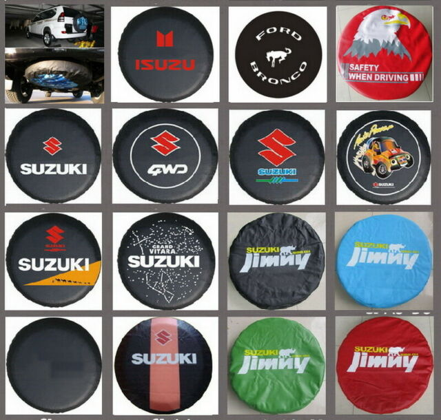 For Suzuki Car Spare Wheel Tire Tyre Soft Cover Case Bag Pouch Protector 26~27 S