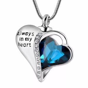 Urn-Necklace-Cremation-Jewellery-Ashes-Pendant-Locket-Keepsake-Memorial-Funeral