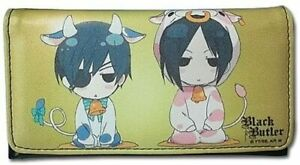 Black-Butler-SD-Cow-Costume-Sebastian-amp-Ciel-Wallet-Great-Eastern-699858611133