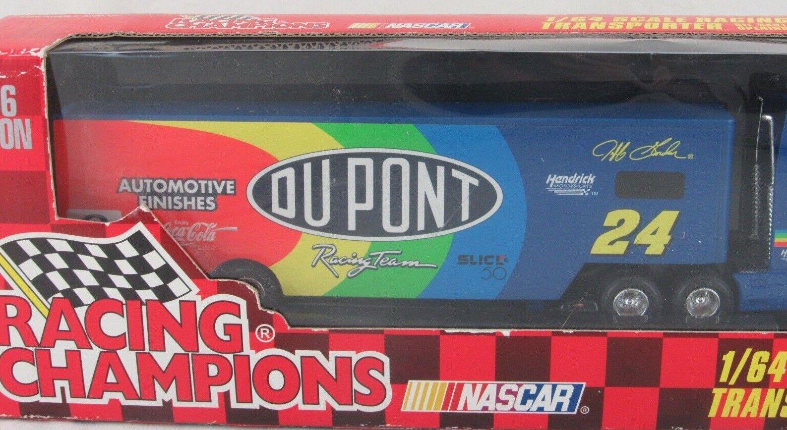 Jeff Gordon Racing Champions 1996 1:64 Scale Racing Team Team Team Transporter 02a121