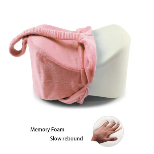 Memory Foam Orthopaedic Leg Knee Pillow Cushion Hips Support Pain Relief IN