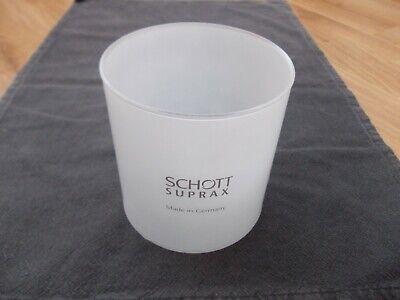 Original Schott Suprax Verre de Remplacement Ø 80mm pour Lampe à Gaz