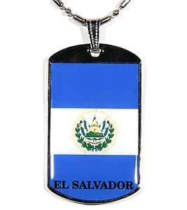El-Salvador-Flag-Polymer-Glazed-Color-Dogtag-Dog-Tag