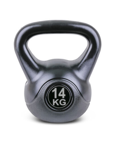TRENAS Black Kettlebell Haltère à-Haltère à boule-boules 2 4 6 8 10 12 14 16 20 kg