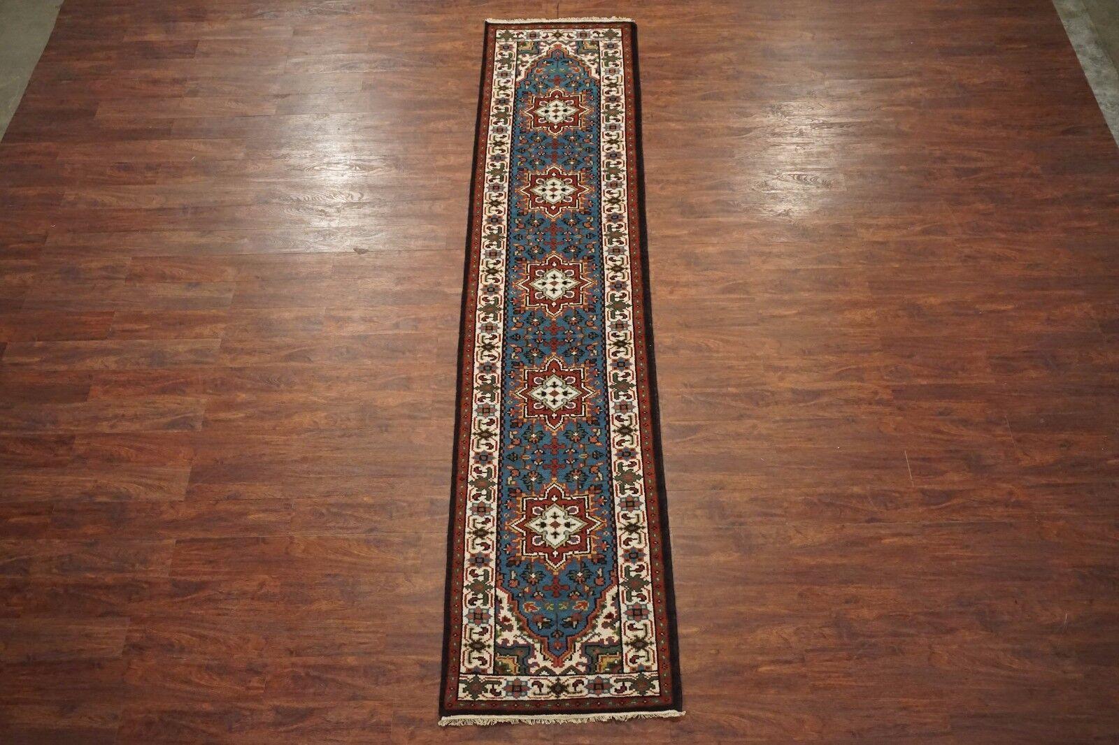 3X12 Persian Heriz Serapi Runner Hand-Knotted Hand-Knotted Hand-Knotted Oriental Wool Area Rug 2.8 x 11.11 6b2c3f