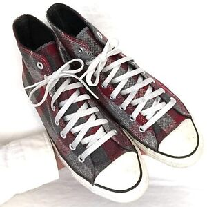 0688de8af710 Vintage USA-MADE Converse All Star Chuck Taylor shoes sz 9.5 WOOL ...