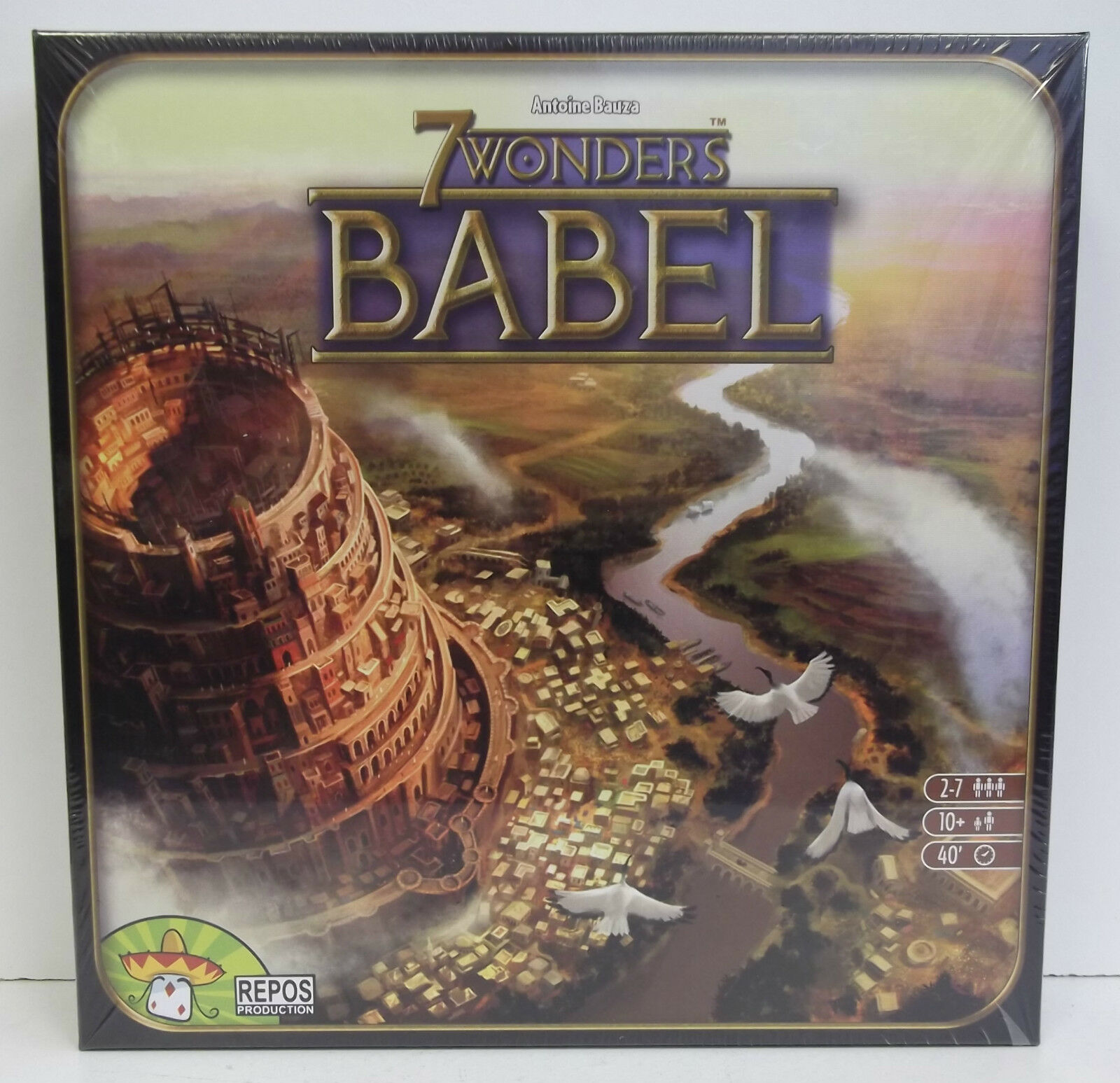 7 7 7 Wonders Babel Board Game Expansion - New 72cce5