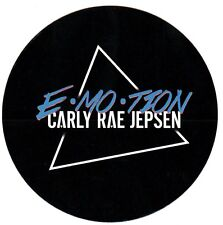 CARLY RAE JEPSEN E·MO·TION 2015 Ltd Ed RARE Sticker +FREE Pop Stickers! Emotion