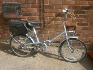 Hercules Ladies vintage/retro/classic folding Shopper Bike -