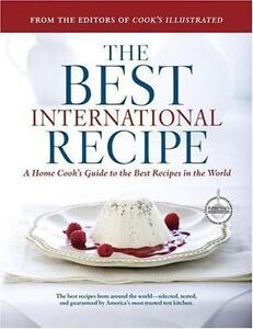 THE-BEST-INTERNATIONAL-RECIPE-2007-Hardcover-Almost-Mint