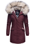 Navahoo-premium-para-mujer-muy-caliente-invierno-chaqueta-invierno-parka-capa-lujo-Cristal miniatura 25