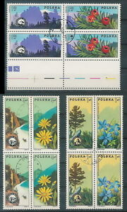 Poland used stamps Mountain guide organisation (Mi. 2370-75) pair (2, free fram) - Bystra Slaska, Polska - Poland used stamps Mountain guide organisation (Mi. 2370-75) pair (2, free fram) - Bystra Slaska, Polska