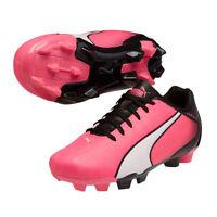 Puma Adrenio Fg 2015 Soccer Shoes Kids - Youth Brand Pink / White/ Black