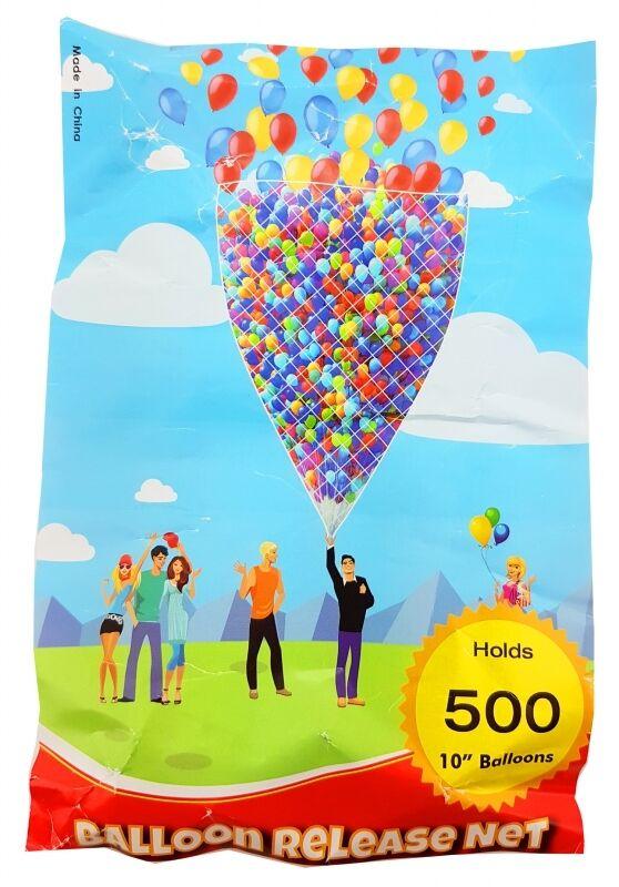Ballonnetz Ballonmassenstart Ballonweitflug, 500er, Netz für Heliumballons