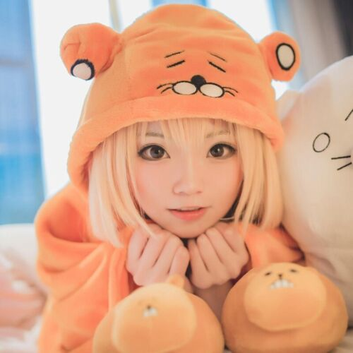 Umaru-chan Doma Umaru Cosplay Anime Head Plush Cloak Blanket Himouto