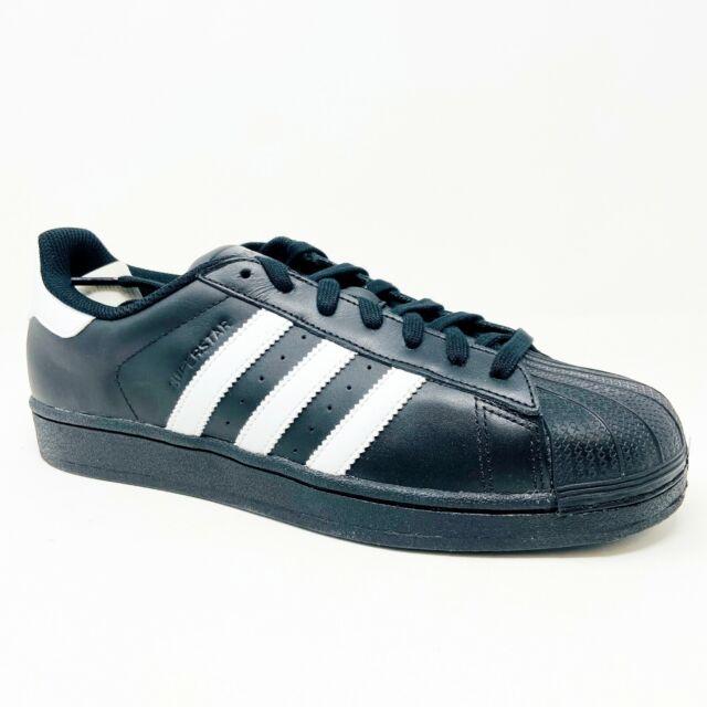 Extranjero arrastrar De ninguna manera  Mens adidas Originals Superstar Foundation Trainers Sneakers in Black. for  sale online | eBay
