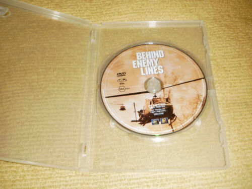 1 of 1 - BEHIND ENEMY LINES action 2006 DVD Gene Hackman owen wilson thriller R4
