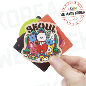 BT21 Character City Edition Sticker 5ea Pack Official K-POP Authentic Goods