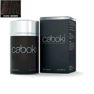 Caboki-Marrone-Scuro-Colore-Ricostruzione-Dei-Capelli-Fibra-Perdita-Correttore