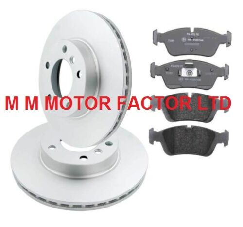 150Bhp Saloon Rear Vented 294mm Brake Discs /& Pads BMW 3 Series E46 320D