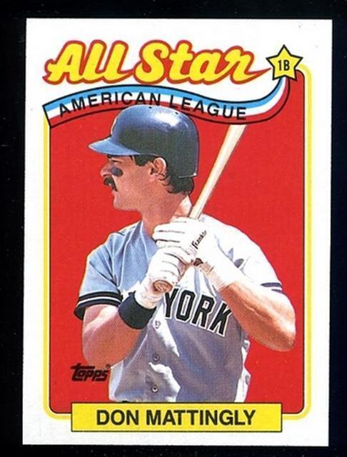 1989 Topps Don Mattingly 397 Baseball Card
