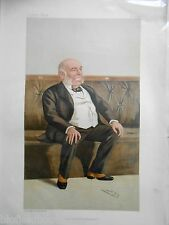 Original Vanity Fair Print of The Rt Hon WH Smith MP, 1887 (Includes Magazine)