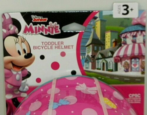 Details about  /Bell Disney Minnie Mouse Bike Skateboard Helmet Pink Toddler Kids 3-5 Years NEW
