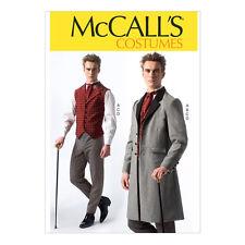 McCall Pattern M7003 Men Costume S(34-36) M(38-40) L(42-44) XL(46-48) XXL(50-52)
