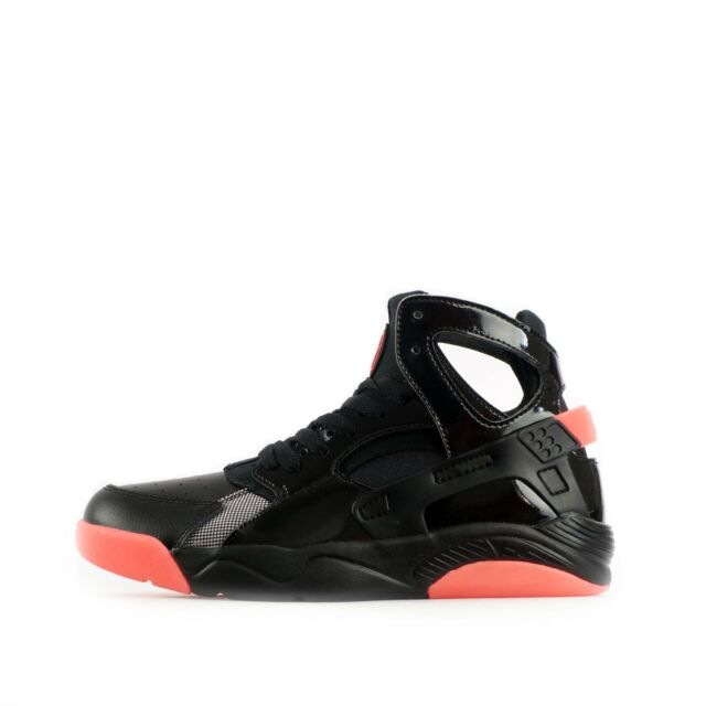 b1485e33304d8 Nike Air Flight Huarache Kids Trainers Black Pink Shoes 5 UK for ...