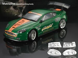 Image Is Loading 1 10 Aston Martin DBR9 190mm RC Car