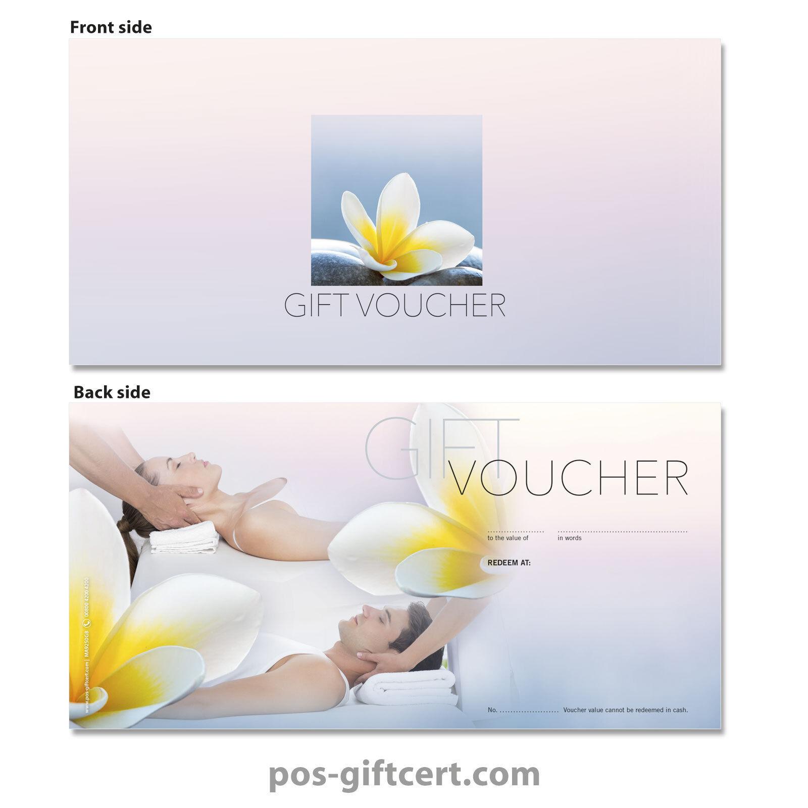 Gift vouchers for physiotherapy, massage, wellness, spa MA9250GB   Bekannt für seine hervorragende Qualität    Lass unsere Waren in die Welt gehen