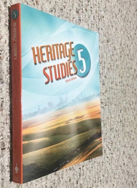 BJU Bob Jones (5th grade) Heritage Studies 5 - STUDENT TEXT/TEXTBOOK 3rd Edition