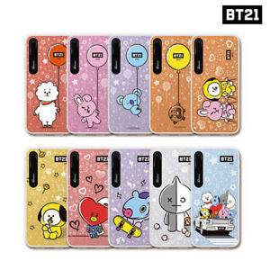BTS BT21 Official Authentic Goods Hang Out Graphic Light UP Case for iPhone