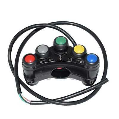 """New Arrival 12V Aluminum Motorcycle Switches 7/8"""" 22mm Handlebar Mount Switches"""