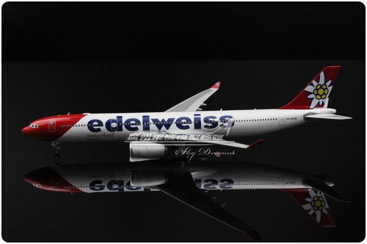 1 400 Phoenix Edelweiss AIRbuss A30 -300 Passagerarplan plan tärningskast modelllllerler